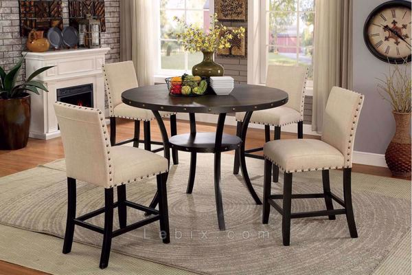 Furniture of America - Kaitlin Dining Table Set