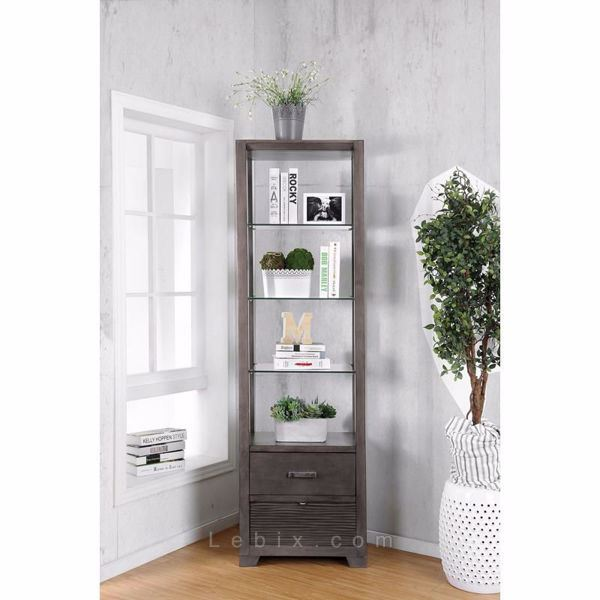 Furniture of America - Tienen Pier Cabinet