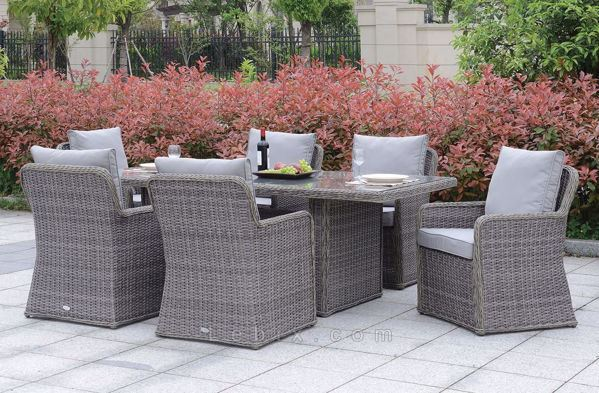 Furniture of America - Bowdon Patio Dining Set