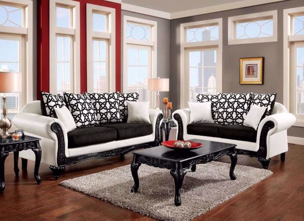 Furniture of America - Dolphy Living Room Set