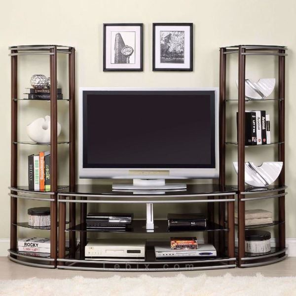 Furniture of America - Silver Creek Entertainment Center