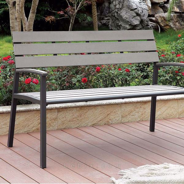 Furniture of America - Isha Outdoor Bench