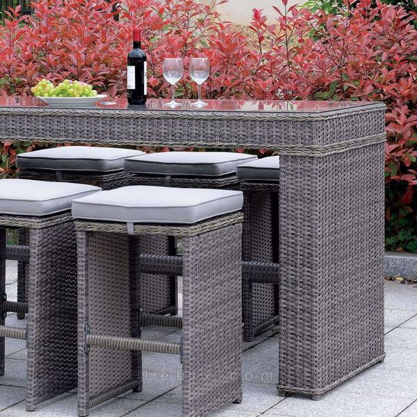 Furniture of America - Ismay Patio Table