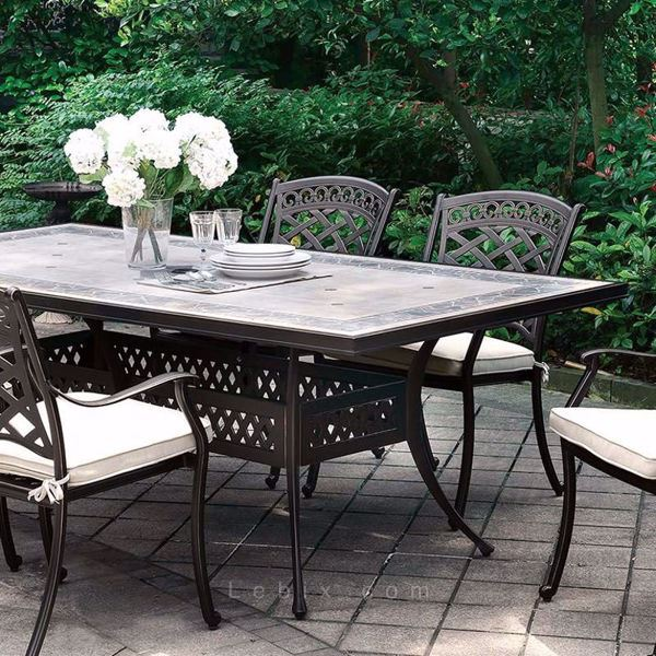 Furniture of America - Charissa Patio Dining Table