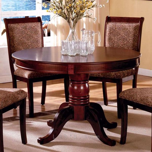 Furniture of America - St. Nicholas Ii Round Dining Table
