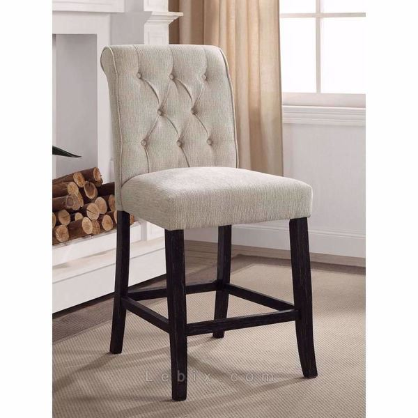 Furniture of America - Izzy Counter Height Chair