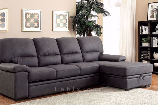 Furniture of America - Alcester Sectional Sleeper