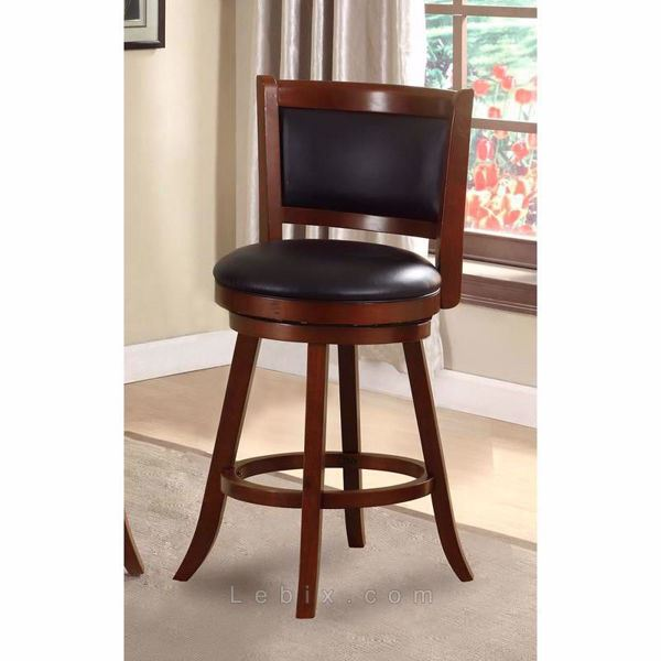 Furniture of America - Letcher Swivel Bar Stool