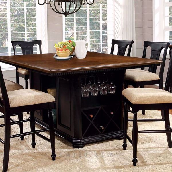 Furniture of America - Sabrina Counter Height Dining Table