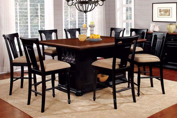 Furniture of America - Sabrina Dining Table Set
