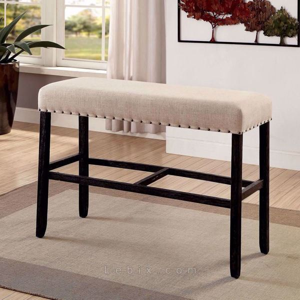 Furniture of America - Sania Ii Bar Height Bench