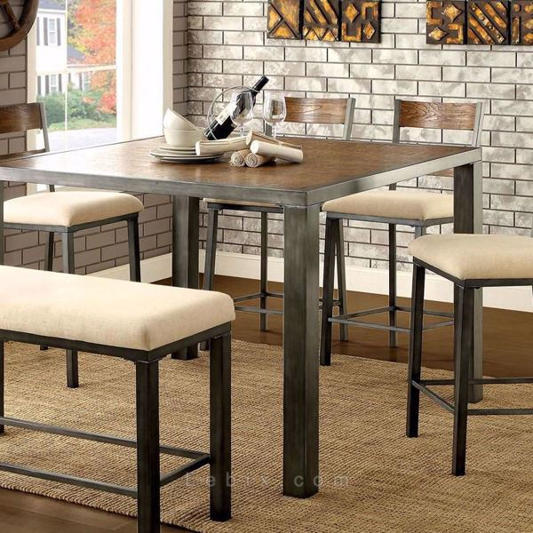 Furniture of America - Jazlyn Ii Counter Height Dining Table
