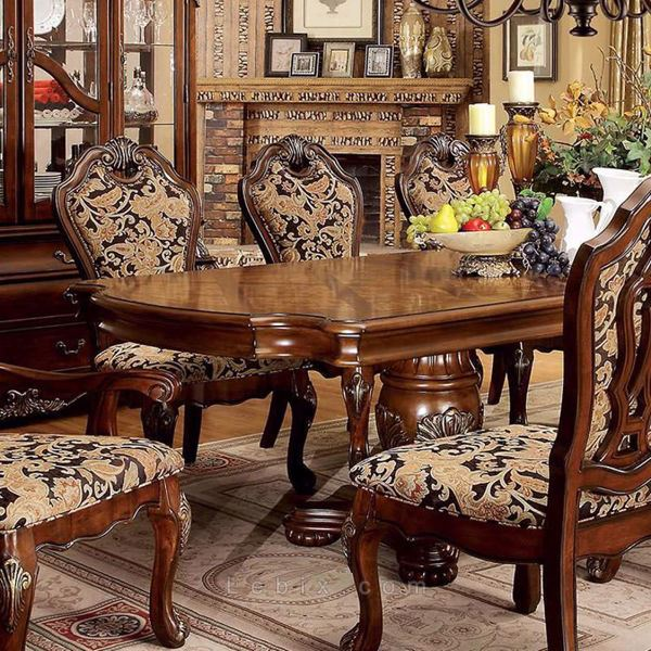 Furniture of America - Vicente Formal Dining Table