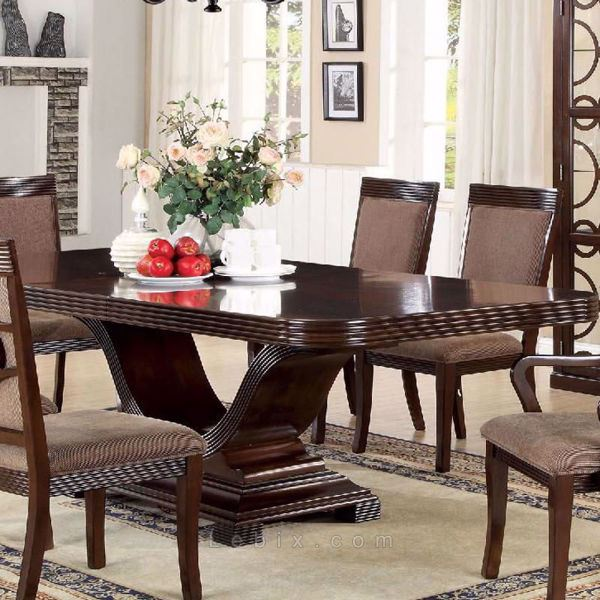 Furniture of America - Woodmont Dining Table