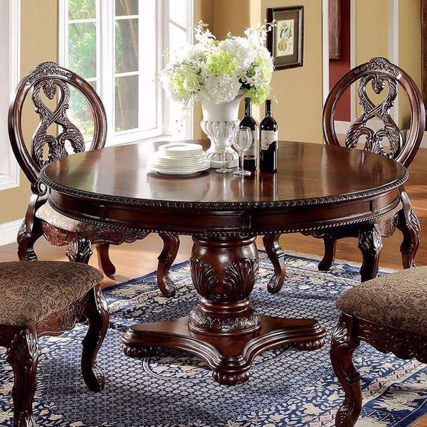 Furniture of America - Tuscany I Round Dining Table