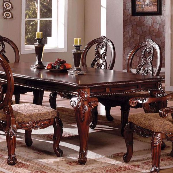 Furniture of America - Tuscany Ii Formal Dining Table