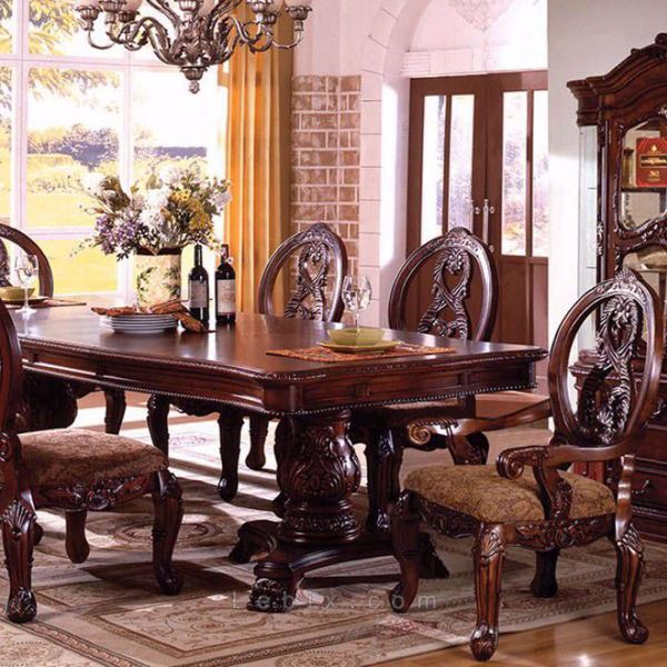 Furniture of America - Tuscany I Formal Dining Table