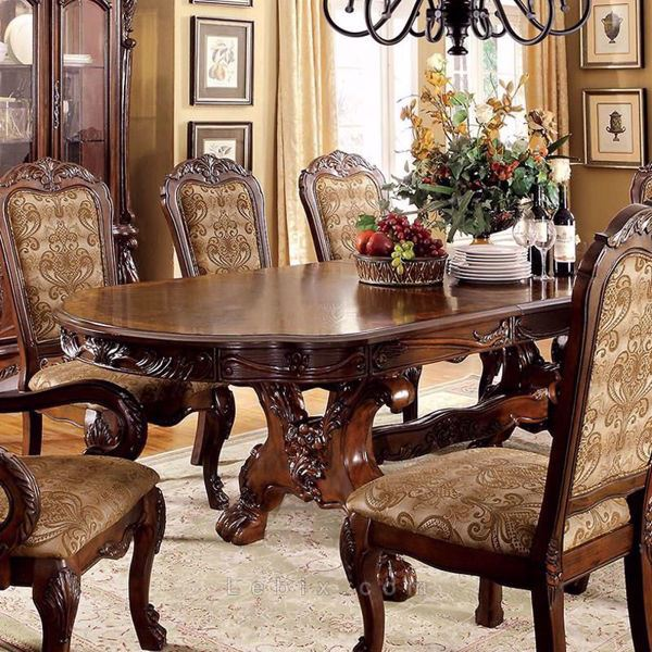 Furniture of America - Medieve Dining Table