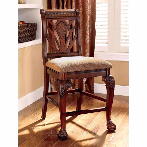 Furniture of America - Petersburg Ii Counter Height Chair