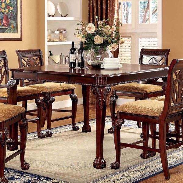 Furniture of America - Petersburg Ii Counter Height Dining Table