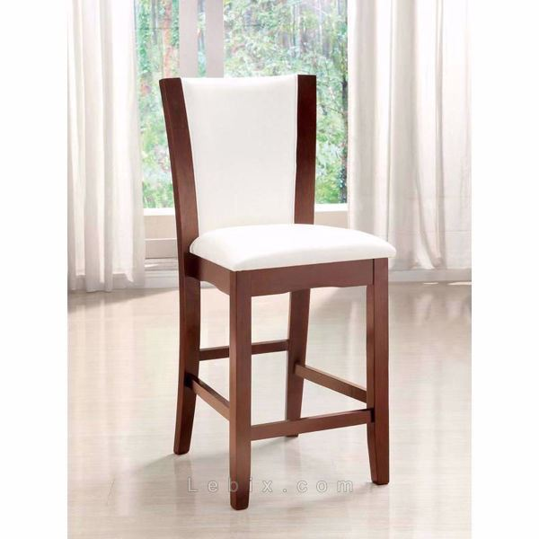 Furniture of America - Manhattan Iii Counter Height Chair