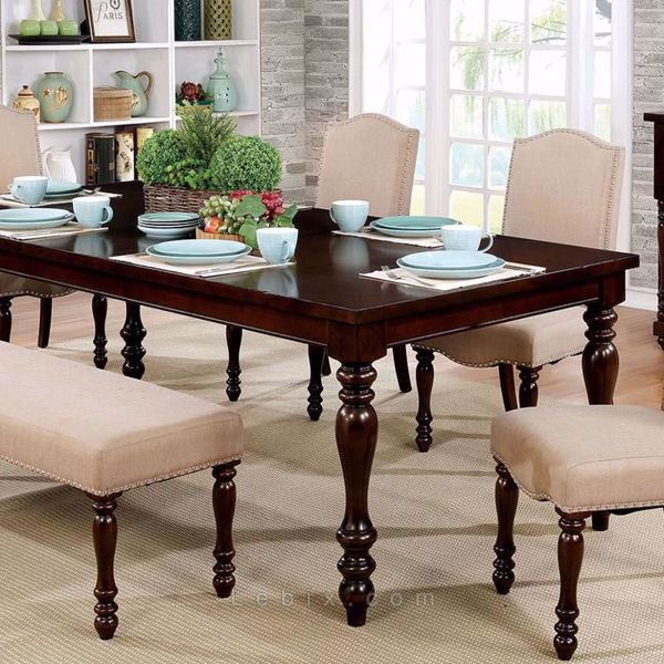 Furniture of America - Hurdsfield Dining Table