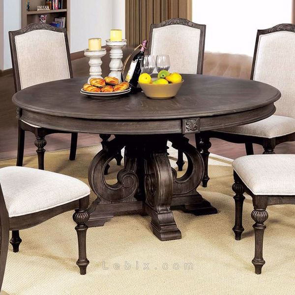 Furniture of America - Arcadia Round Dining Table