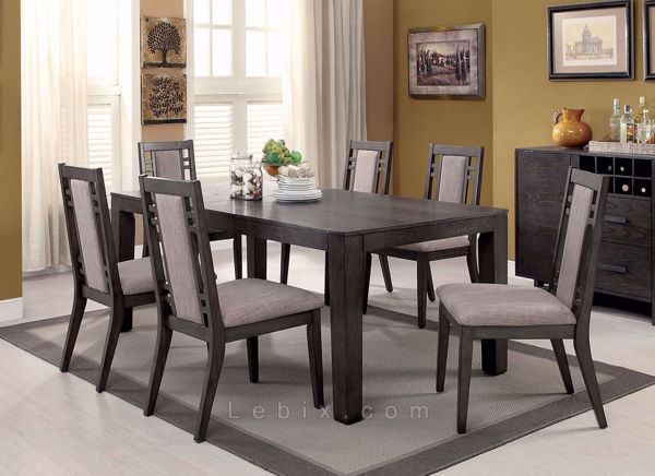 Furniture of America - Eris I Dining Table Set