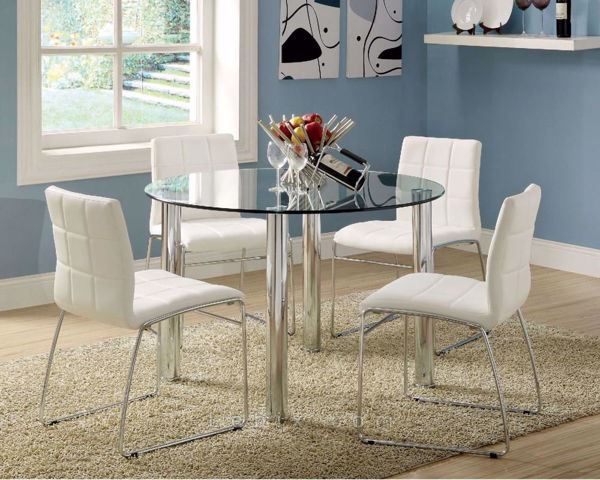 Furniture of America - Kona I Dining Table Set