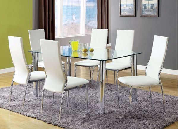 Furniture of America - Kalawao Dining Table Set