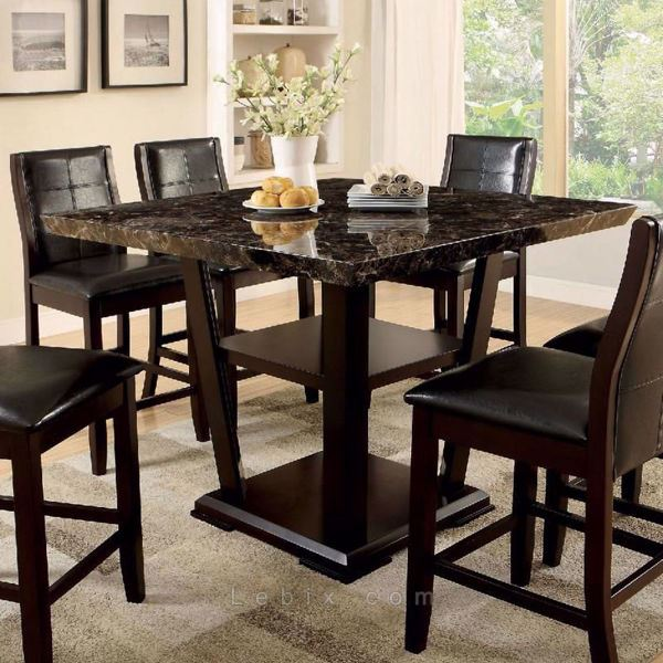 Furniture of America - Clayton Ii Counter Height Dining Table