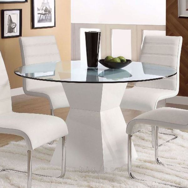 Furniture of America - Mauna Round Dining Table