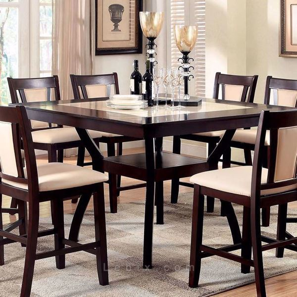 Furniture of America - Brent Ii Counter Height Dining Table