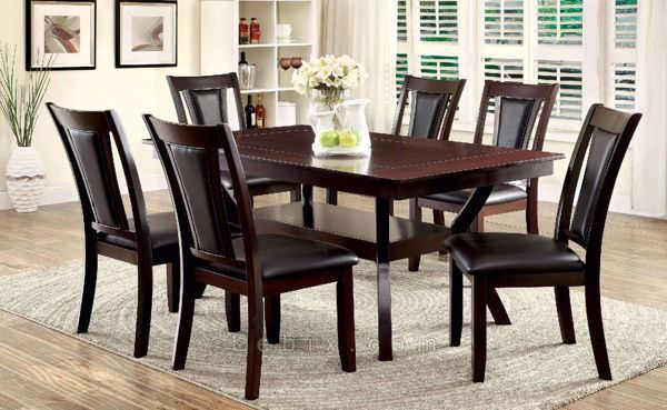 Furniture of America - Brent Dining Table Set