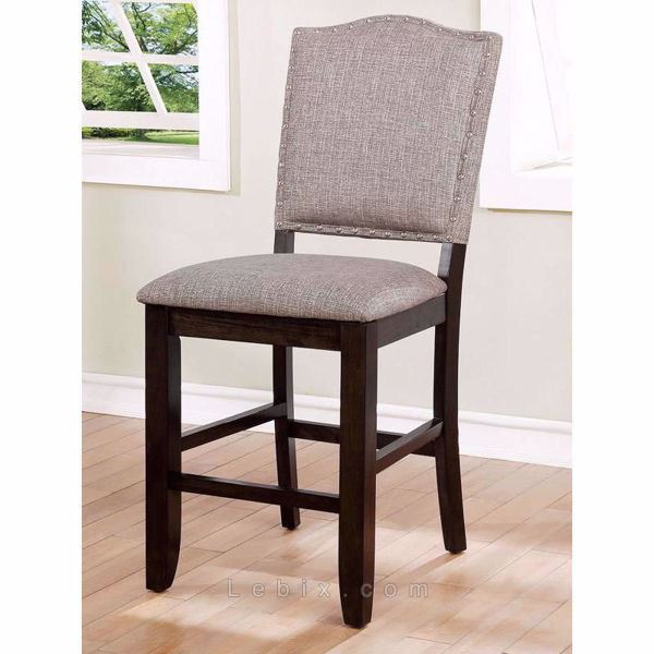 Furniture of America - Teagan Counter Height Chair