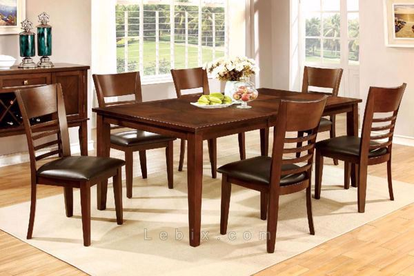 Furniture of America - Hillsview I Dining Table Set
