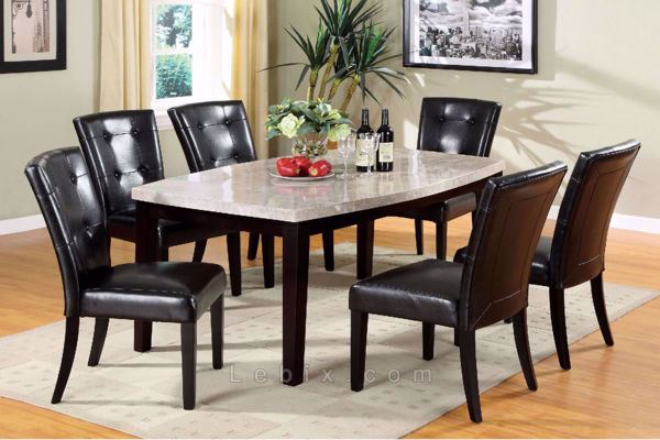 Furniture of America - Marion I Dining Table Set