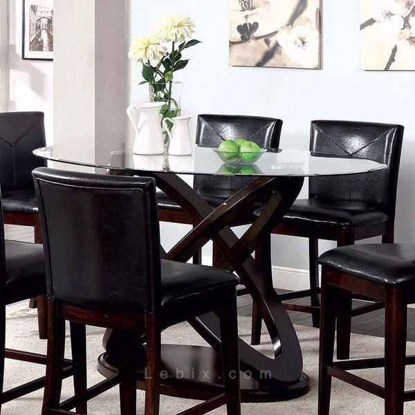 Furniture of America - Atenna Ii Counter Height Dining Table