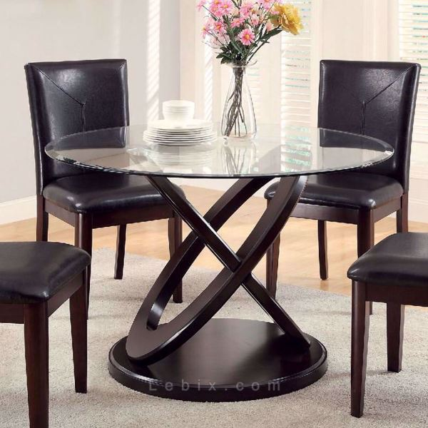 Furniture of America - Atenna I Round Dining Table
