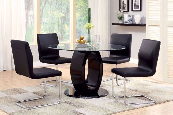 Furniture of America - Lodia I Dining Table Set