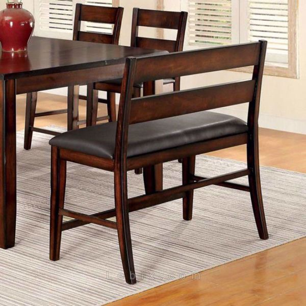 Furniture of America - Dickinson Ii Counter Height Bench