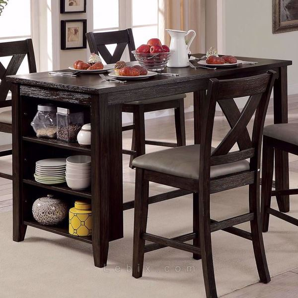 Furniture of America - Lana Counter Height Dining Table