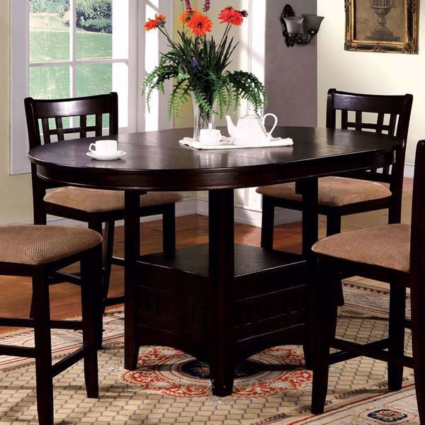 Furniture of America - Metropolis Counter Height Dining Table