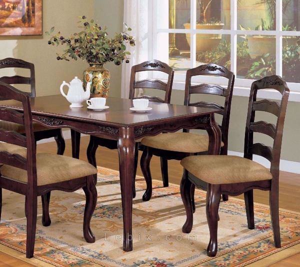 Furniture of America - Townsville Dining Table Set