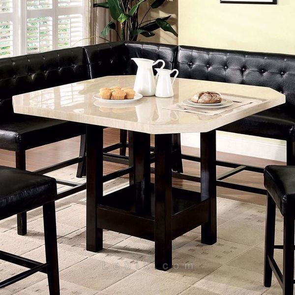 Furniture of America - Bahamas Counter Height Dining Table