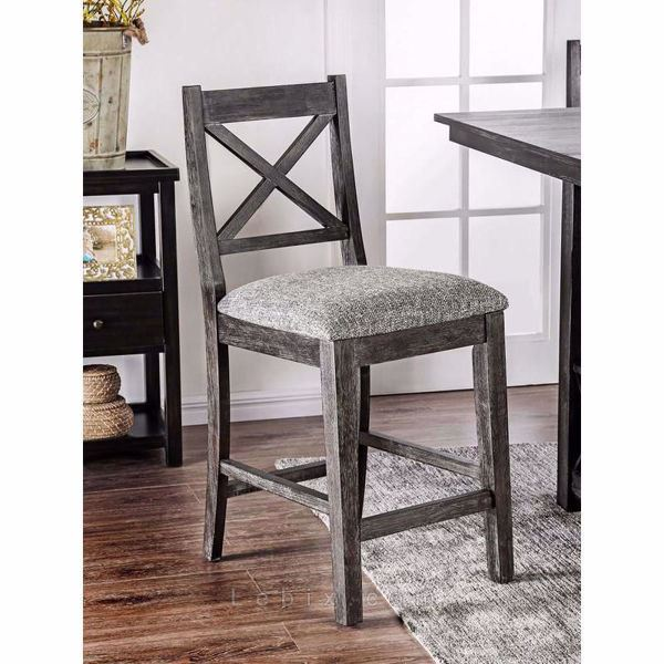 Furniture of America - Faulkton Counter Height Chair