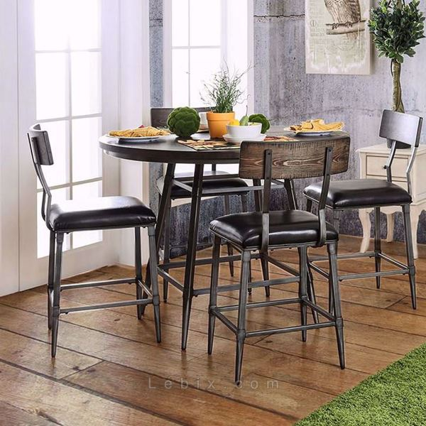 Furniture of America - Mullane Counter Height Dining Table