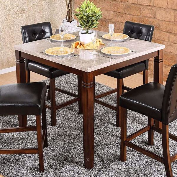 Furniture of America - Marstone Ii Counter Height Dining Table