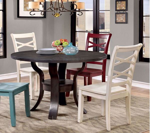 Furniture of America - Gisela Dining Table Set