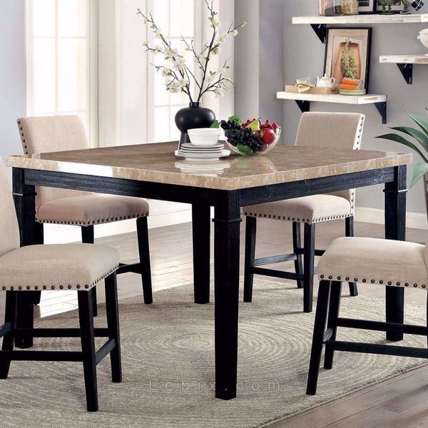 Furniture of America - Dodson Ii Counter Height Dining Table